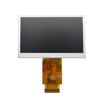 """China 4.3""""inch 480×272 TFT LCD module 9-leds for houesehold medical products for ATM/Pos"""