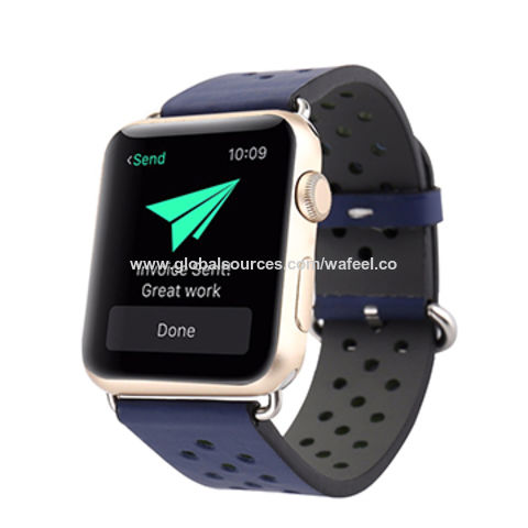cheaper 45f96 26147 China Sport Silicone Strap Waterproof Replacement Band for Apple ...
