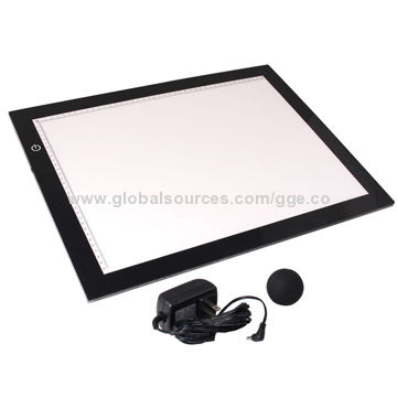 China Portable Backlit Alvin Drawing Table Quilting Tabletop Light Box With Battery Ed Pad