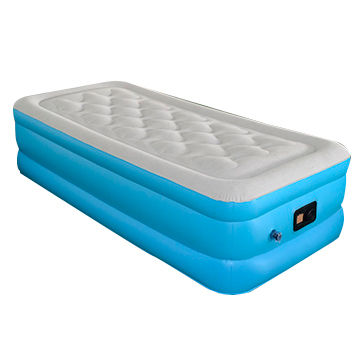 China Twin Air Mattress Raised Durable Bed Inflatable From Zhongshan