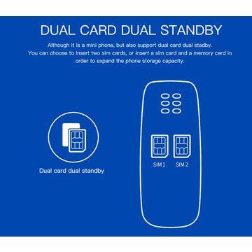 Mini Bluetooth Phone Smallest Mobile Voice Changer Dual Sim L8Star