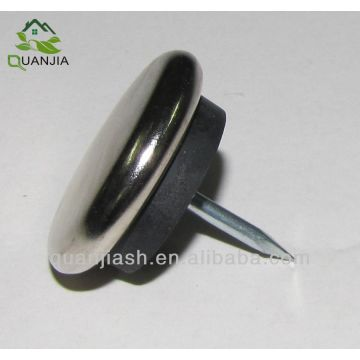 Chair Furniture Glides nail on chair glides - furniture metal nail-on glide feet | global