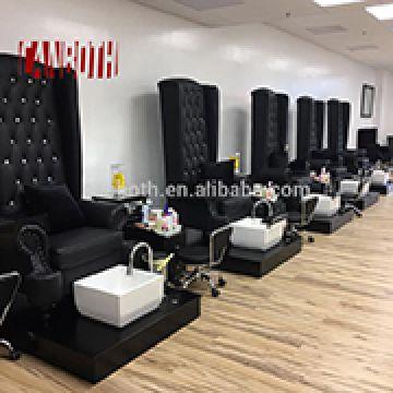 Pleasing Canboth Black Modern French Louis Nail Salon Equipment Machost Co Dining Chair Design Ideas Machostcouk