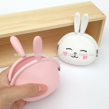 Rabbit silicone coin purse