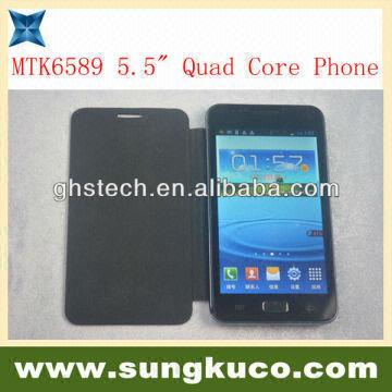Wholesale Mtk6589 Android 4 2 Quad Core Phone with Dual