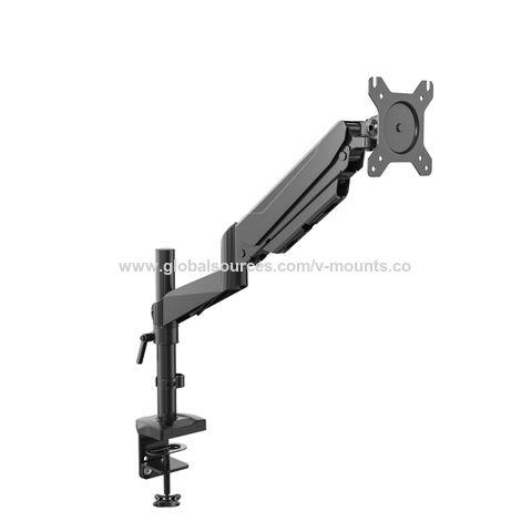 Vision Mounts Gasspring Deskclamp Aluminium Notebook Holder Arm With Usb Port,