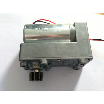 ... China DC Motor with 55V, High Stall Torque of 300kg*cm, Gearbox Length ...