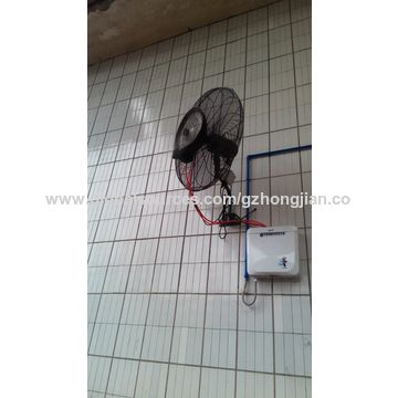 reduce temperature china outdoor misting fan wall type outdoor cooling system reduce temperature - Outdoor Misting Fan
