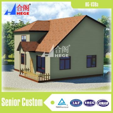 China Villa House Custom Made Prefab Light Steel Cabin