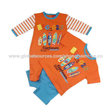 ea75fdc5d7d7 China Wholesale Custom Quality Baby Romper, Baby Climbing Clothes Baby T- shirt + Shorts ...