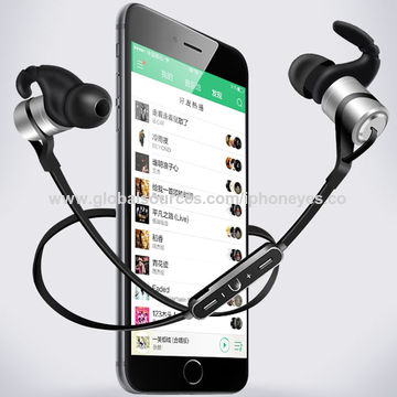 China Bluetooth Headphones, Wireless in-Ear Sports Sweatproof Earphones, Headsets with Mic for Running