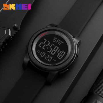 18cbcb649a1c ... China Big Face Dual Time Digital Watch Men s Chronograph Sports Watches  Countdown Military 1257