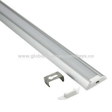 Curved aluminium casing for led strip light anodized diffused or china curved aluminium casing for led strip light anodized diffused or clear cover aloadofball Gallery