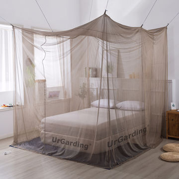 China Box Shape Emf Rf Shielding Canopy, Queen Size Bed Hanging Canopy