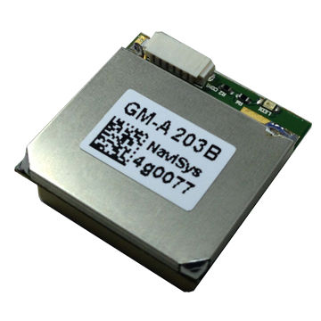 Taiwan GM-A203 is built-in with patch antenna, power control pin, and digital connector.