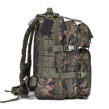 bb646bcc0281 Camouflage Military Tactical Assault Pack Backpack