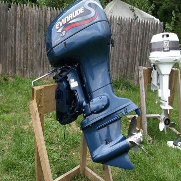 ... Indonesia 1999 EVINRUDE 90HP OUTBOARD BOAT MOTOR INJECTED