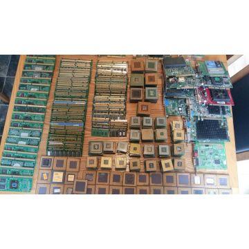 Intel pentium pro gold ceramic processor chip scrap for gold