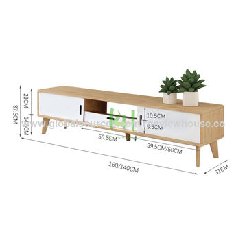 Living Room Cabinets Bamboo Tv Stand, Tv Stand For Media Storage Assembly