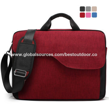 d80a74b137e7 ... China 15.6 Inches Nylon Laptop Bag Shoulder Bag with Strap  Multi-compartment Messenger Hand Bag ...
