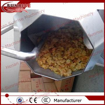 China Potato Chips Seasoning MachineAutomatic DischargeEasy To Clean Up