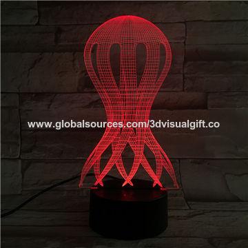 China 3d led novelty table lamp from shenzhen manufacturer 3d china 3d led novelty table lamp with battery supply aloadofball Choice Image