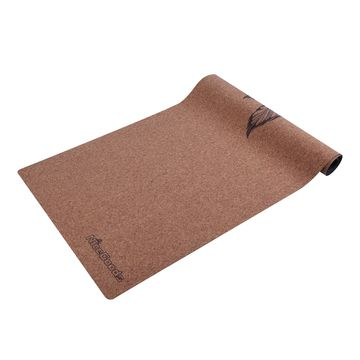 China Non Toxic Custom Print Cork Yoga Mat