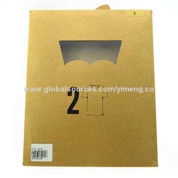 China High Quality Kraft Paper Bag For T Shirt Packaging Customized Sizes And