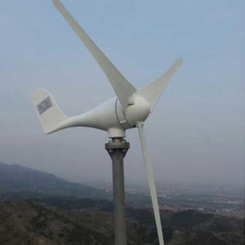 China 100W residential wind turbine on Global Sources