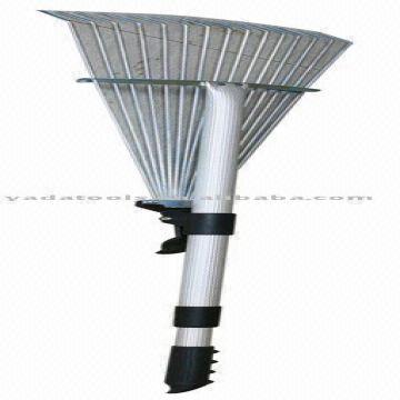 15T adjustable telescopic alulminum handle stick rake R133