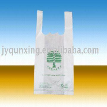 Double Layer T-shirt Bag Thermal Cutting Machine   Global