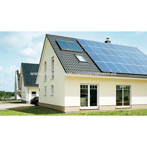 China Solar Off-grid Power System with Battery, Inverter