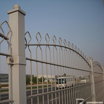 China Ornamental Double Loop Wire Fence
