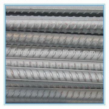deformed steel rebar: 1) carbon and low alloy steel 2) Dia : 6~40mm