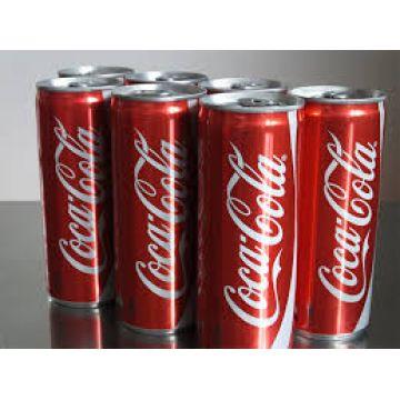 Coca cola 33cl sleek can, 200ml slim can language