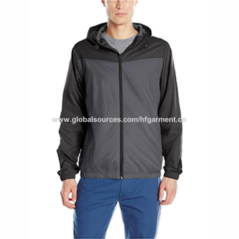 China Wholesale custom printed windbreaker jacket with 100