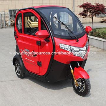 China Three Wheeled Electric Vehicle