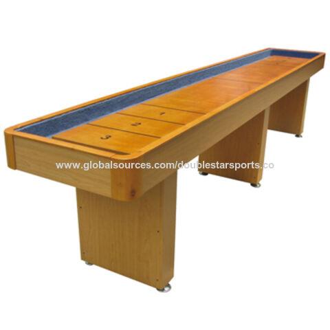 China 2018 Mdf Tabletop Shuffleboard Table