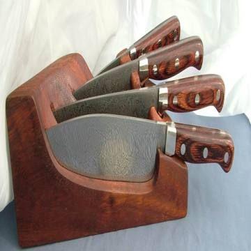Pakistan Damascus Kitchen Knife Set