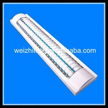 SAA CE ROHS T8 double tube fluorescent light fixture diffuser 2x36w ...
