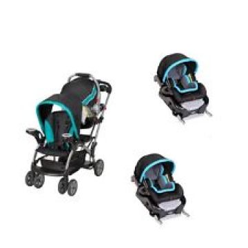 United States For Sell Graco Double Stroller Twin With 2 Car Seats Included Travel System