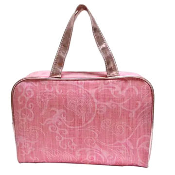 3aa1d40b897e Fabric Toiletry Bag with Handle