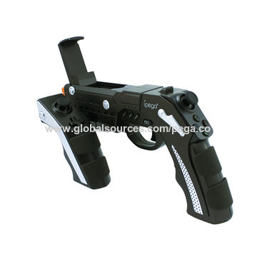PG-9057 Bluetooth game gun for Android and iOS devices, with simulation of vibration and bullet