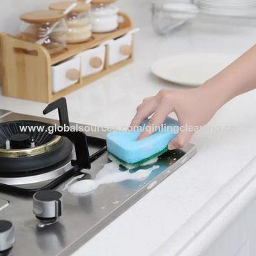 ... China Heavy Duty Kitchen Cleaning Sponge, Eraser Sponge, Scrubber Brush  ...