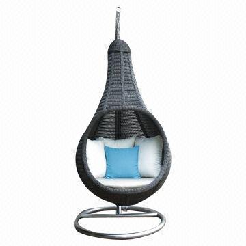 Outdoor Hanging Rattan Ball Chair China Outdoor Hanging Rattan Ball Chair