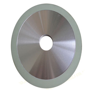 China High efficiency and wear resistance vitrified bond diamond grinding wheel for PCD