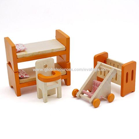 China Juguete de madera de los muebles de las miniaturas delicadas ...