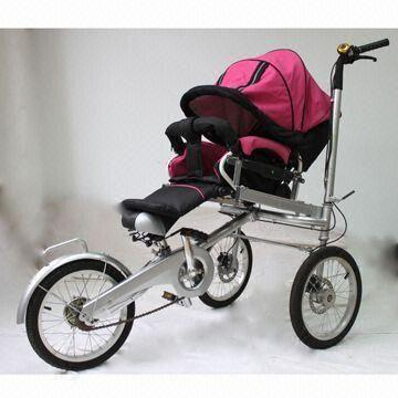 Innovative Tricycl/Baby Stroller Pram, with Disk Brakes on Both ...