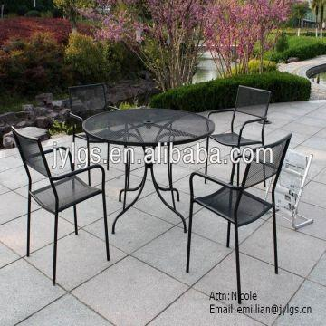 China House 5 Piece Metal Mesh Patio And Garden Dining Table Set