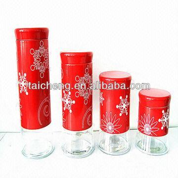 Dcorative Jar Decorative Kitchen Canisters Food Grade Glass Jars